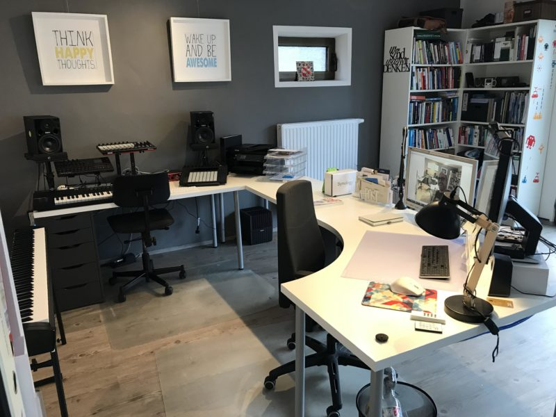 Daniels neues Büro