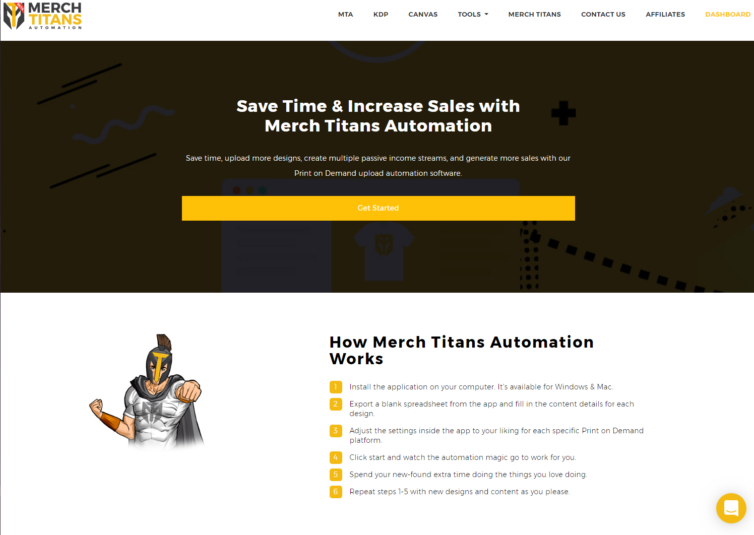 Merch Titans Print on Demand Automation