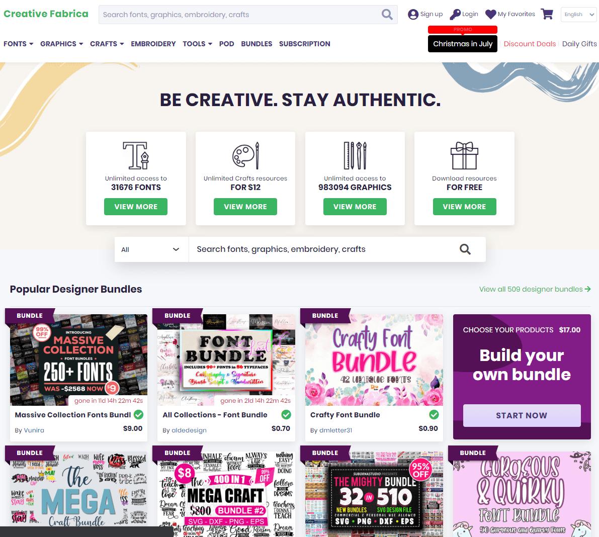 Creative Fabrica - die Perle fürs Pod Business